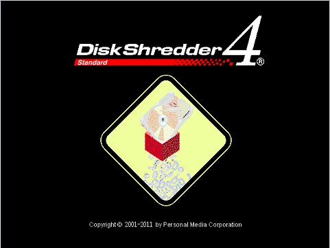 Screenshot of Disk Shredder
